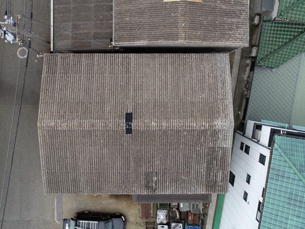 工場屋根点検
