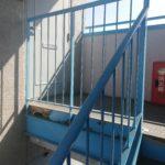 鉄骨階段の劣化