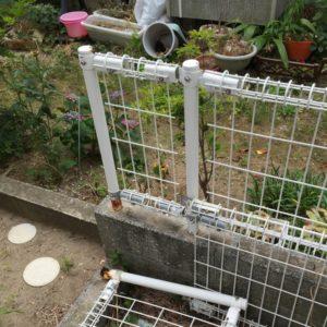 フェンスの破損