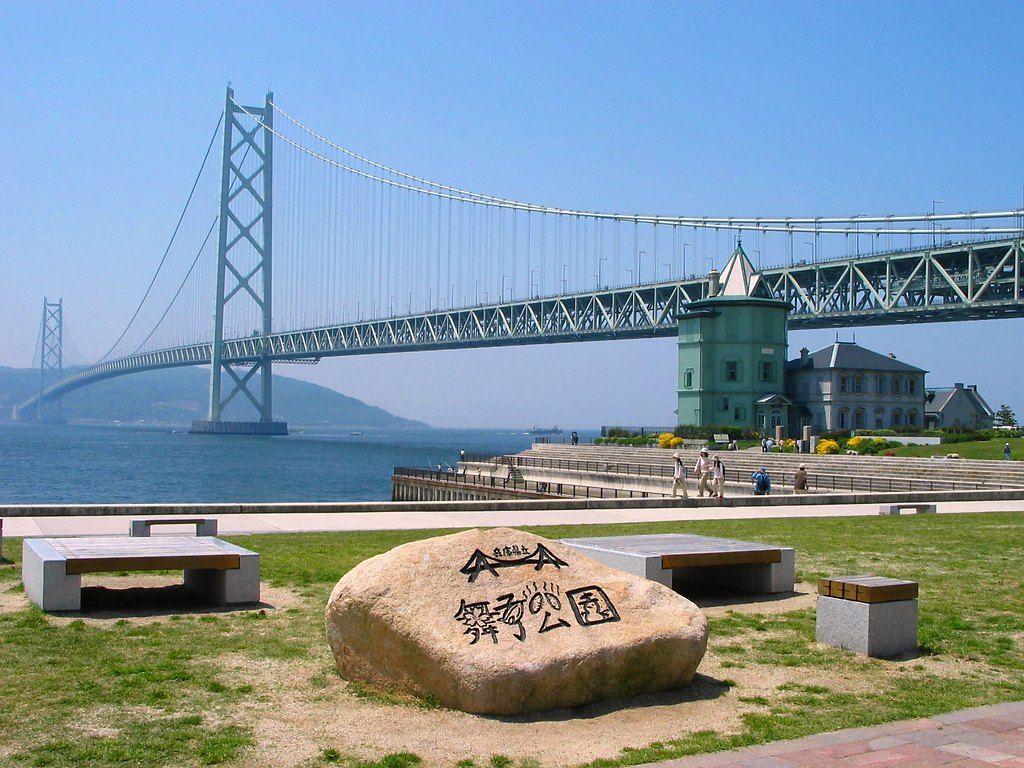 垂水からの明石大橋