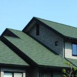 石粒付金属屋根