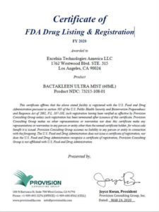 FDA(アメリカ)