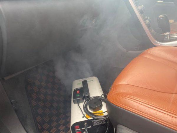 車内の除菌