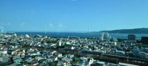 天文科学館からの明石市の風景